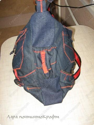 Две джинсовые спортивные сумочки фото 3