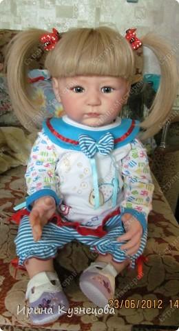 Вот на днях у меня родилась вот такая девочка-кукла)) фото 9