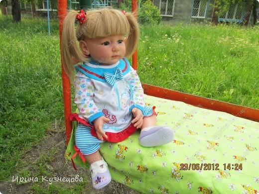 Вот на днях у меня родилась вот такая девочка-кукла)) фото 2