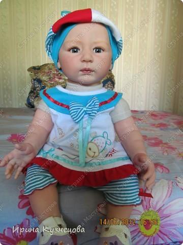Вот на днях у меня родилась вот такая девочка-кукла)) фото 1