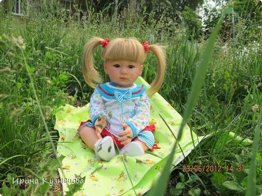 Вот на днях у меня родилась вот такая девочка-кукла)) фото 3