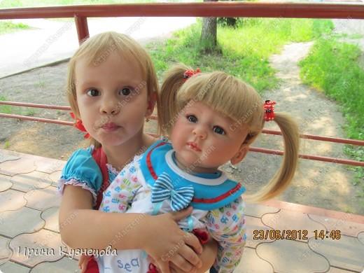 Вот на днях у меня родилась вот такая девочка-кукла)) фото 4