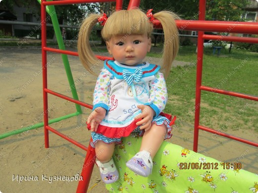 Вот на днях у меня родилась вот такая девочка-кукла)) фото 5