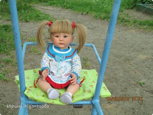 Вот на днях у меня родилась вот такая девочка-кукла)) фото 6