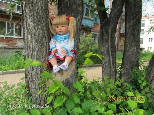 Вот на днях у меня родилась вот такая девочка-кукла)) фото 7