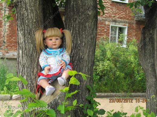 Вот на днях у меня родилась вот такая девочка-кукла)) фото 8