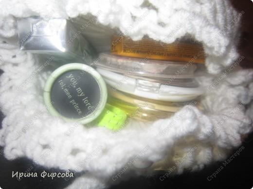 Летняя вязанная сумочка из СД - дисков плюс МК))) фото 6