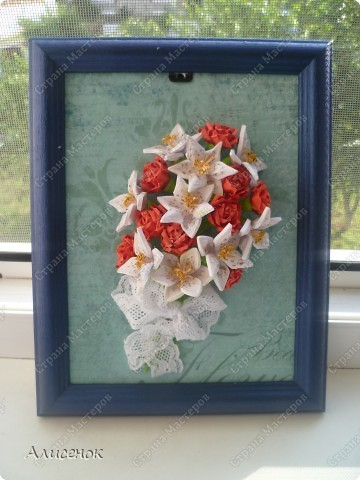 Розы и лилии фото 1