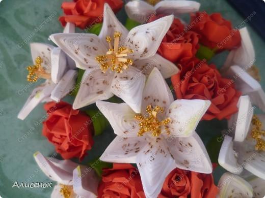 Розы и лилии фото 2