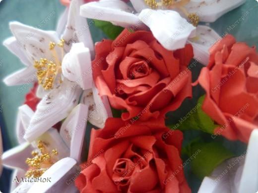 Розы и лилии фото 3