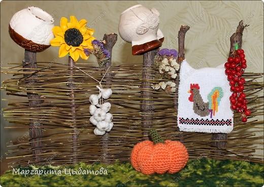 Как сделать украинский плетень своими руками