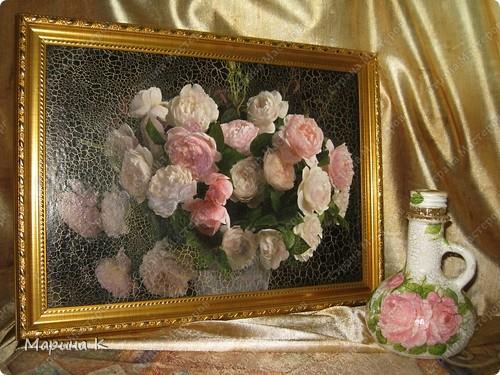 """Розы самые популярные цветы и предметы с их изображением прекрасное украшение интерьера. Трио """"Розы"""" фото 2"""