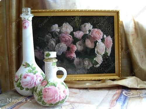 """Розы самые популярные цветы и предметы с их изображением прекрасное украшение интерьера. Трио """"Розы"""" фото 1"""