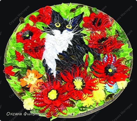 Котишка Тишка в цветах фото 1