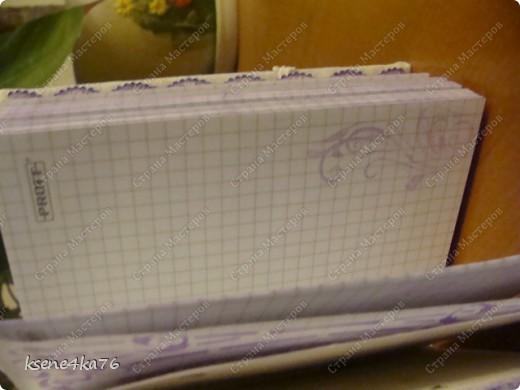 Здравствуйте, дорогие рукодельницы!!! Лето, жара, отпуска...не твориться пока))) Но, первый свой блокнотик я сделала. Прошу, смотреть))) фото 6