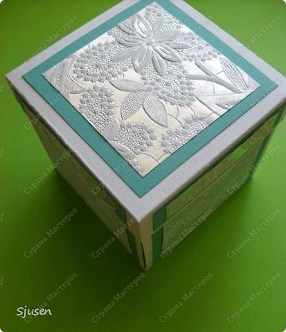 Очередная коробочка с сюрпризом, для человечка, который очень много для меня значит. фото 1