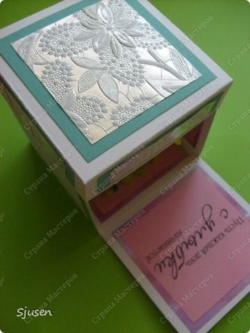 Очередная коробочка с сюрпризом, для человечка, который очень много для меня значит. фото 2