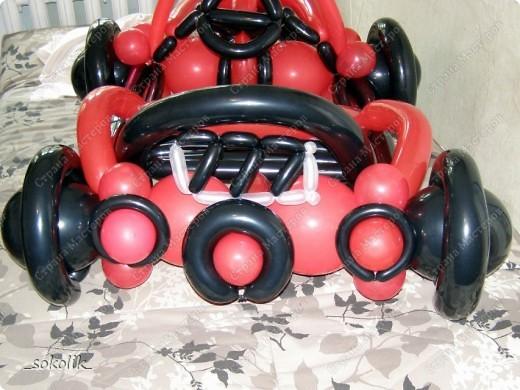 Машинка из шаров какой - 1c82