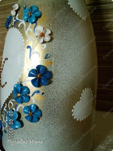Попросили меня сделать набор в синем,  в подарок на свадьбу по мотивам моего другого набора http://stranamasterov.ru/node/359689 , вот я и решила слегка изменить (скучно одно и тоже делать))))  фото 5