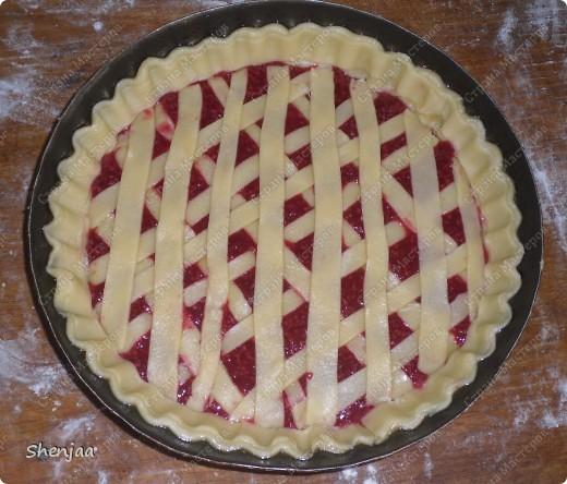 Малиновый пирог фото 1