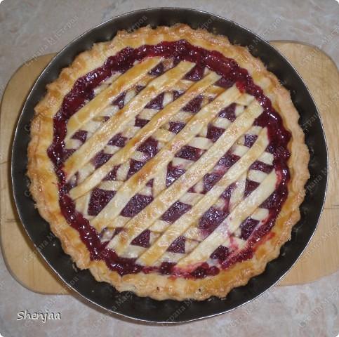 Малиновый пирог фото 2