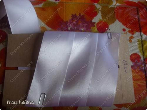 Вот такие бантики у меня заказали к 1 сентября. И так как я обещала МК на бант засняла процесс изготовления фото 4