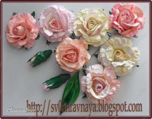 Мастер-класс Свадьба Бумагопластика Цветы из бумаги Бумага фото 1