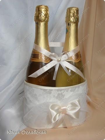 Декор предметов Свадьба Лепка Свадебный набор Айвори  Бусины Картон Ленты Пластика Ткань фото 2