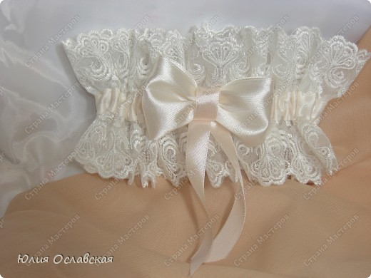 Декор предметов Свадьба Лепка Свадебный набор Айвори  Бусины Картон Ленты Пластика Ткань фото 7