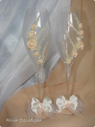 Декор предметов Свадьба Лепка Свадебный набор Айвори  Бусины Картон Ленты Пластика Ткань фото 5