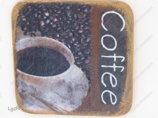 Доброй ночи Всем !!! Сегодня я сотворила кофейный триптих!! (в дополнение к кофейному наборчику!!)  фото 4