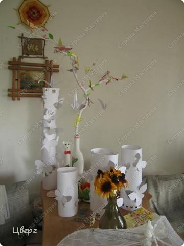 Лотосы,сложенные в технике оригами фото 16