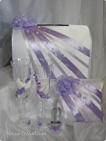 Эх, затянуло меня создание наборов. Итак хочу представить вам очередной набор в бело-фиолетовом цвете. фото 1