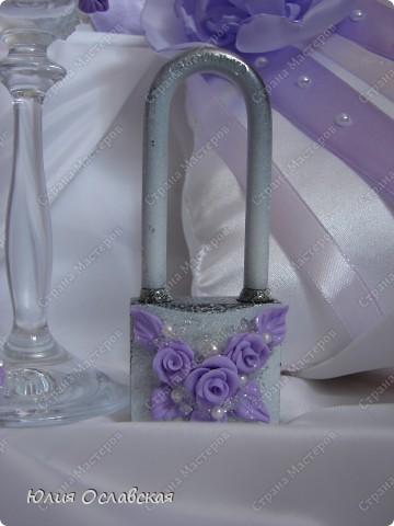 Эх, затянуло меня создание наборов. Итак хочу представить вам очередной набор в бело-фиолетовом цвете. фото 5