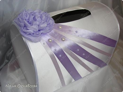 Эх, затянуло меня создание наборов. Итак хочу представить вам очередной набор в бело-фиолетовом цвете. фото 3