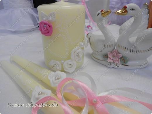 Бело-розовый набор. фото 2