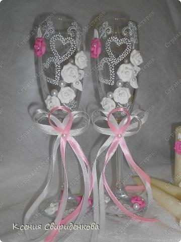 Бело-розовый набор. фото 3
