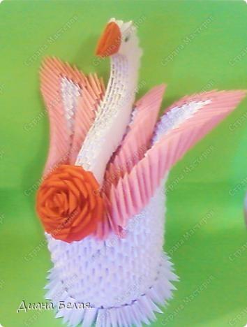 Такой у меня получился лебедь по МК iv.olga фото 1