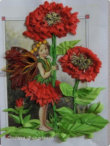 фея  с цветком фото 1