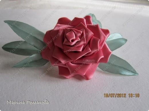 Сегодня у меня появилось огромное желание сделать такую розу фото 1