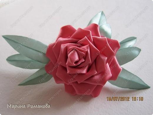 Сегодня у меня появилось огромное желание сделать такую розу фото 2
