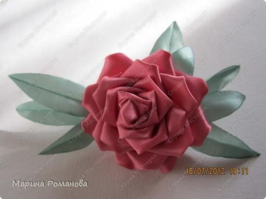 Сегодня у меня появилось огромное желание сделать такую розу фото 3