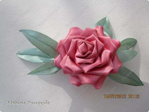 Сегодня у меня появилось огромное желание сделать такую розу фото 4