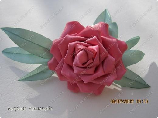 Сегодня у меня появилось огромное желание сделать такую розу фото 6