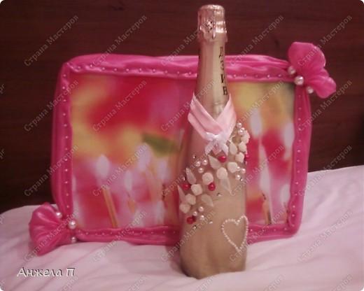 Моя первая бутылочка на годовщину свадьбы сестренки. фото 1