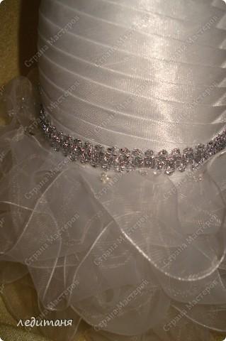 Мои свадебные бутылки по МК Олечки(gud) фото 5
