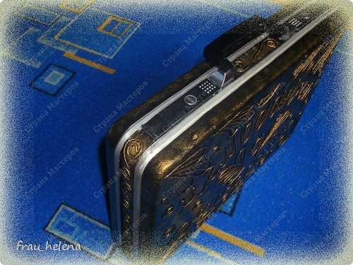 Ура, ура , теперь у меня есть чемоданчик. Спасибо Татьяне Сорокиной  за её технику ПЕЙП-АРТ. фото 3