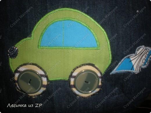 """Джинсовая сумка """"Машинка"""".  Хотите со мной по путешествовать? Тогда садитесь, прокачу! Возьмите с собой хорошее настроение и УлЫбКу... фото 2"""