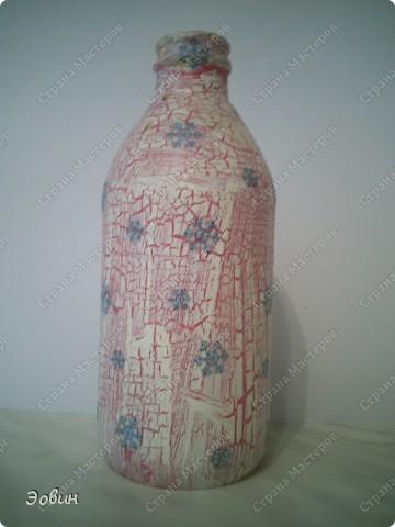 Первая бутылочка на которой получился кракюлюр. и поэтому любимая) фото 2