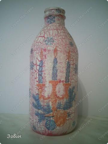 Первая бутылочка на которой получился кракюлюр. и поэтому любимая) фото 1